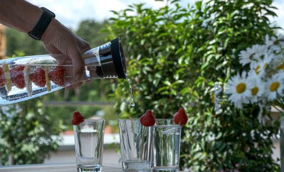 Caraffe per filtrare acqua potabile