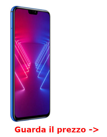 smartphone Honor display grande