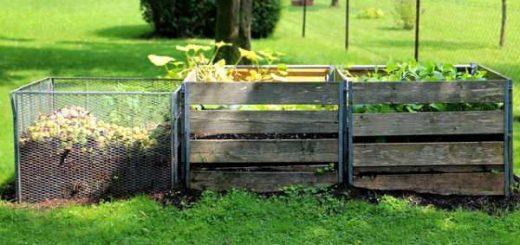 compostiera per casa e giardino