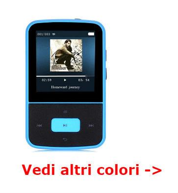 AGPTEK G05 lettore MP3